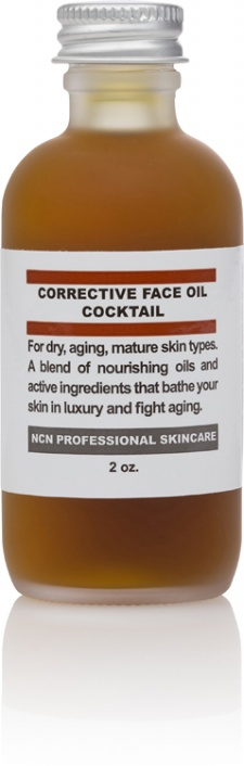 Aging/ Mature/Dry Corrective Face Oil Cocktail 2 oz.